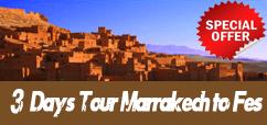 3 days Desert Tour from Marrakech to Fez